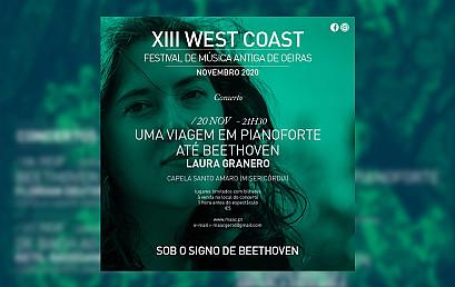 """Concerto """"Uma Viagem em Pianoforte até Beethoven"""" Laura Granero, pianoforte"""