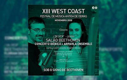 """Concerto """"Salão Beethoven"""" Concerto Ibérico & Arparla Ensemble"""