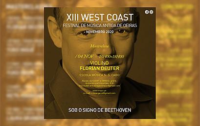 Masterclasse Florian Deuter, violino barroco